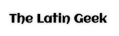 The Latin Geek Logo